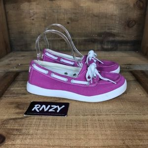 LL Bean Canvas Boat Shoe